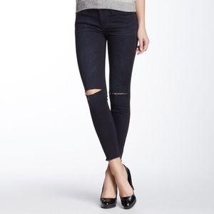 Joe's Jeans Knee Slit Finn Skinny Ankle Jean